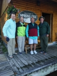 Our American guests Patrick, Ralph, Robert and Jeff on their annual trip to the lodge.